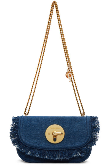 See by Chloé - Blue Denim Lois Bag