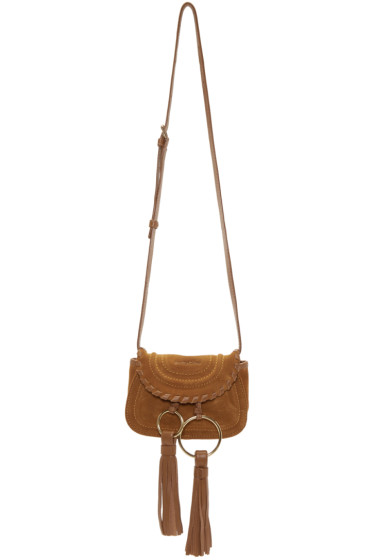See by Chloé - Tan Suede Mini Polly Bag