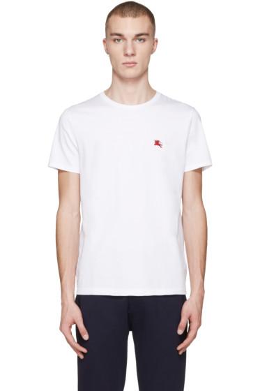 Burberry - White Tunworth T-Shirt
