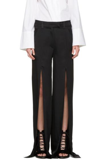 Ann Demeulemeester - Black Bissmal Trousers