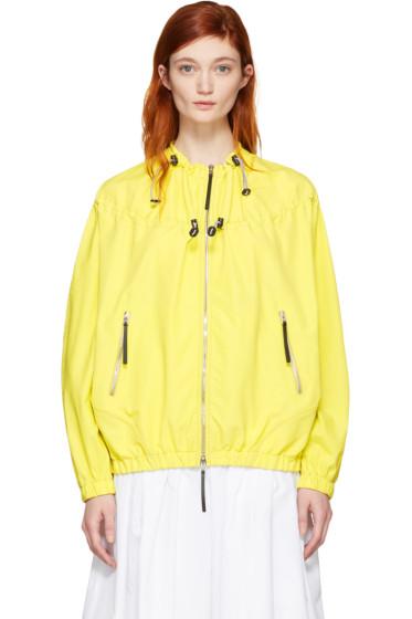 Marni - Yellow Taffeta Jacket
