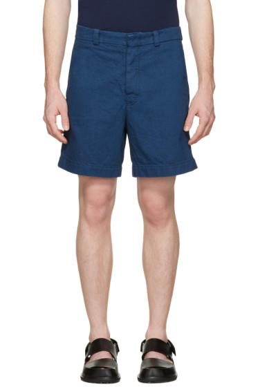 Marni - Blue Denim Shorts