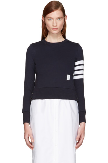 Thom Browne - Navy Classic Pullover