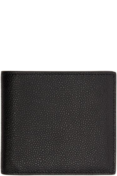 Thom Browne - Black Billfold Wallet