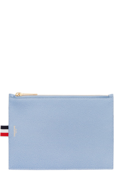 Thom Browne - Blue Large Pouch