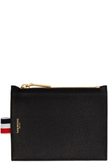 Thom Browne - Black Small Coin Purse