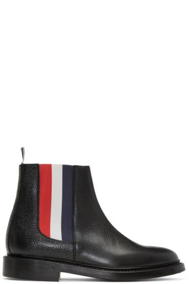Thom Browne - Black Chelsea Boots