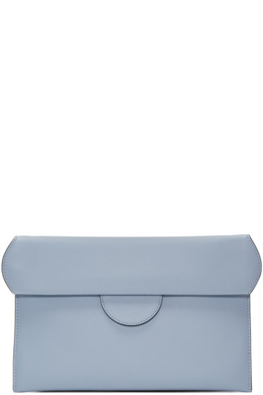 Roksanda - Blue Fold-Over Pouch
