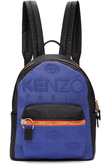 Kenzo - Blue & Black Kombo Backpack