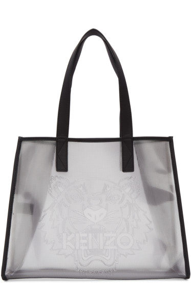 Kenzo - Clear East West Tote Bag