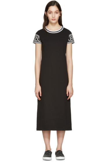 Kenzo - Black Logo T-Shirt Dress