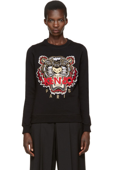 Kenzo - Black Chinese New Year Tiger Pullover