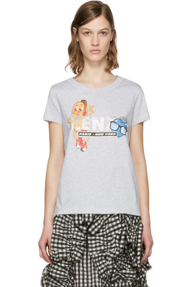 Kenzo - Grey Hot Dog T-Shirt