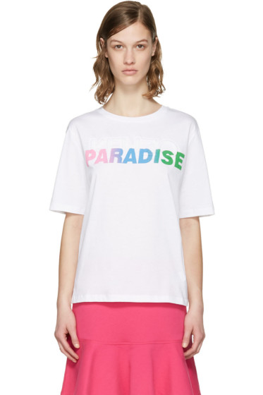 Kenzo - White 'Paradise' Logo T-Shirt