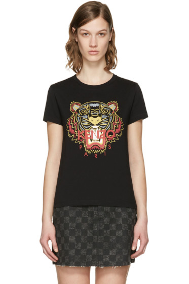 Kenzo - Black Chinese New Year Tiger T-Shirt