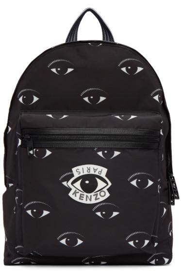 Kenzo - Black Eye Backpack