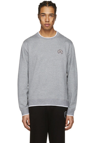 Kenzo - Grey Tiger Patch Pullover