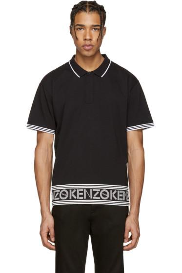 Kenzo - Black Logo Polo