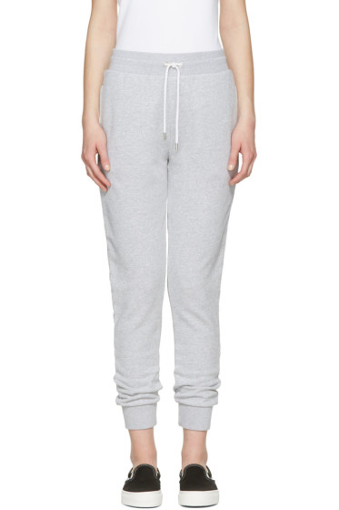 Maison Kitsuné - Grey Jogger Lounge Pants