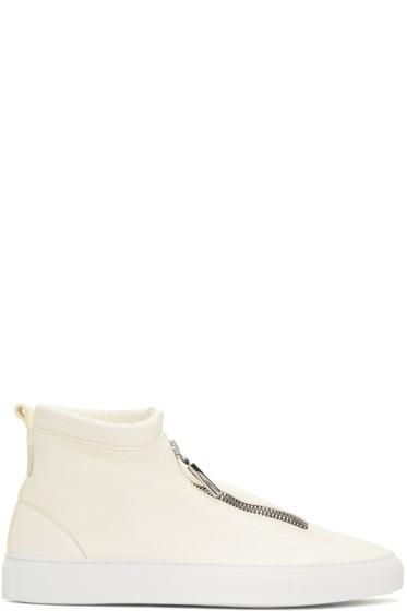Diemme - Ivory Fontesi High-Top Sneakers
