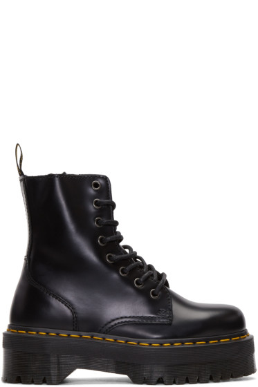 Dr. Martens - Black Eight-Eye Jadon Boots