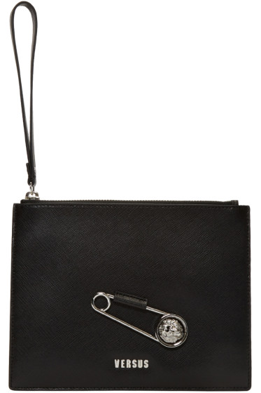 Versus - Black Pin Zip Pouch