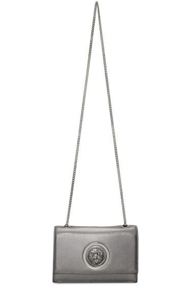 Versus - Silver Small Medusa Bag