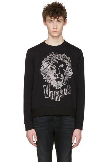 Versus - Black Lion Head Pullover