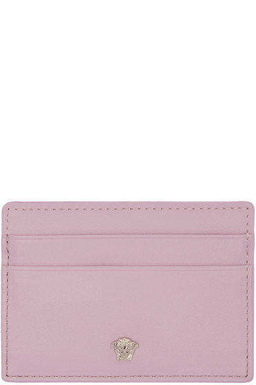 Versace - Pink Medusa Card Holder