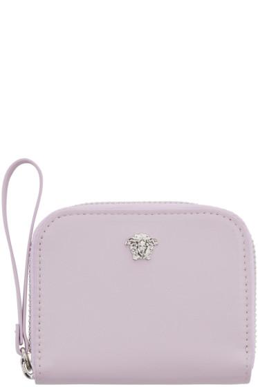Versace - Pink Medusa Zip Wallet