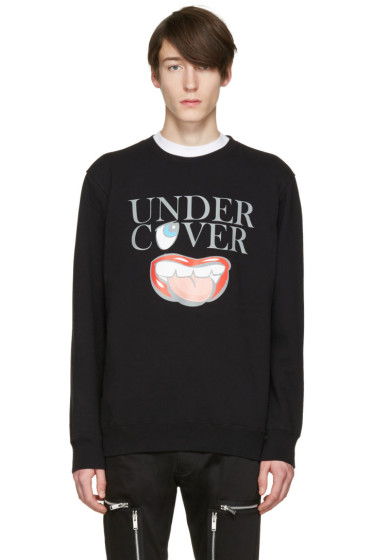 Undercover - Black Logo Face Pullover