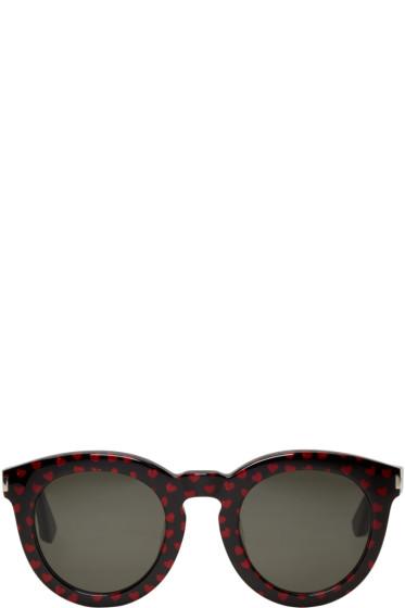 Saint Laurent - Black SL 102 Sunglasses