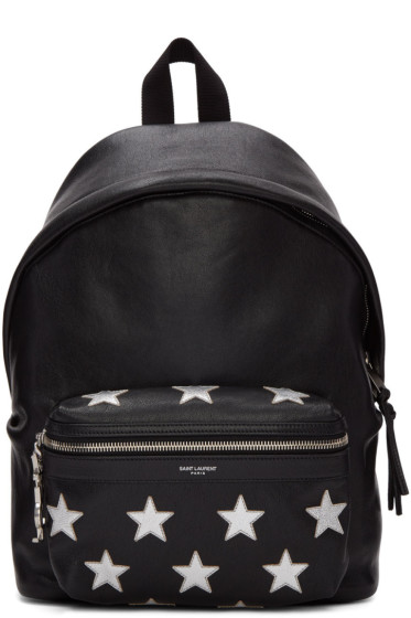 Saint Laurent - Black Mini City Backpack