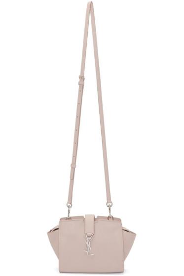 Saint Laurent - Pink Leather Toy Cabas Bag