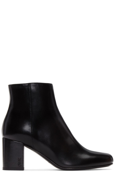 Saint Laurent - Black Babies Boots