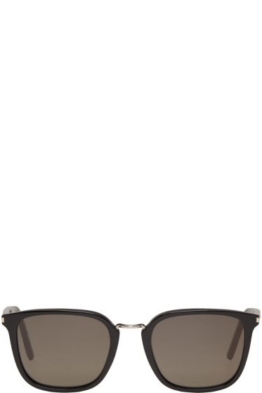 Saint Laurent - Black SL 131 Combi Sunglasses