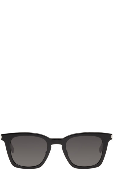 Saint Laurent - Black SL 138 Slim Sunglasses