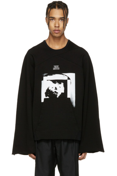 Julius - Black Wide Arms Pullover