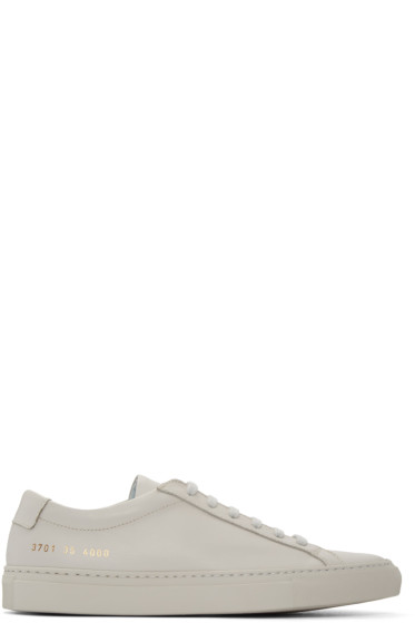Woman by Common Projects - Grey Original Achilles Sneakers