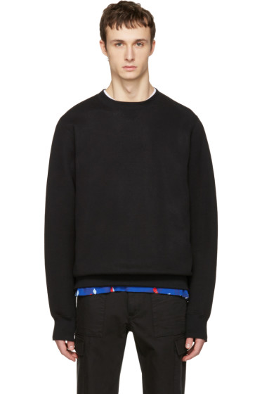 Sacai - Black Sweats Pullover