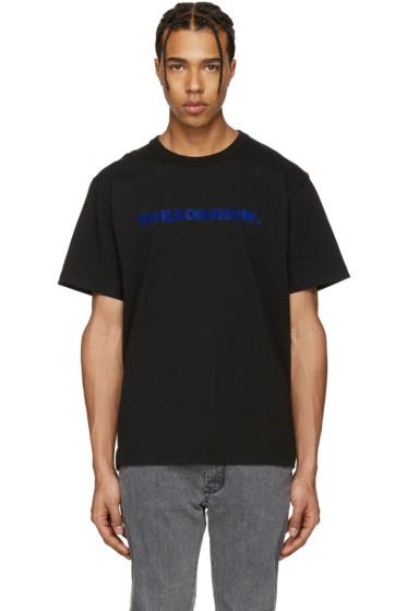 Sacai - Black 'Horrorshow' T-Shirt