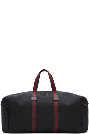 Gucci - Black Techpack Duffle Bag