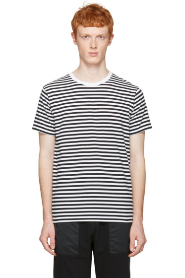 Nanamica - Black Striped T-Shirt