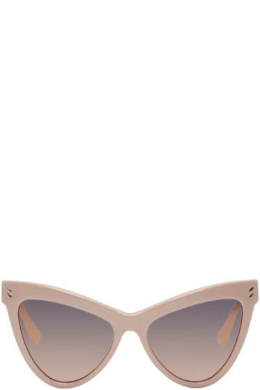 Stella McCartney - Pink Cat-Eye Sunglasses
