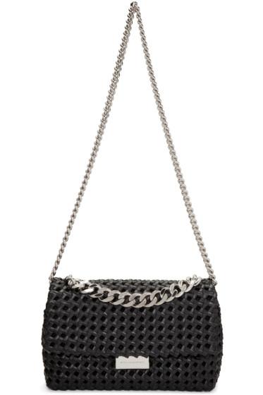 Stella McCartney - Black Becks Weaved Bag