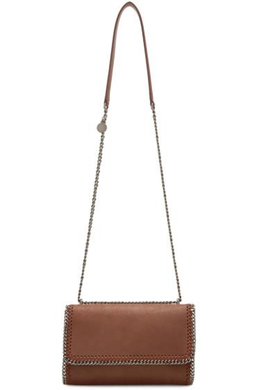 Stella McCartney - Brown Chained Flap Shoulder Bag