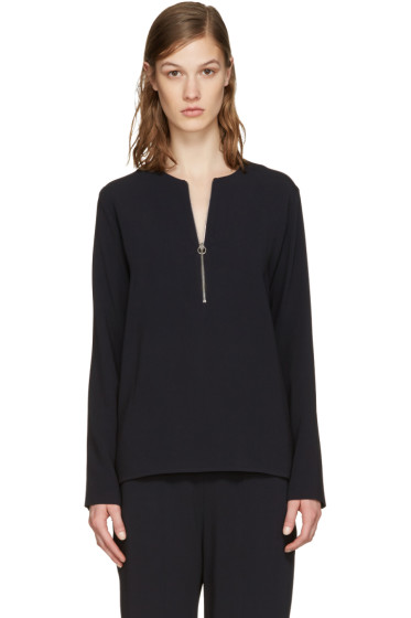 Stella McCartney - Navy Arlesa Blouse