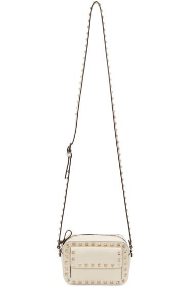 Valentino - Ivory Small Rockstud Crossbody Bag