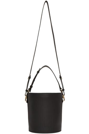 J.W.Anderson - Black Leather Bucket Bag