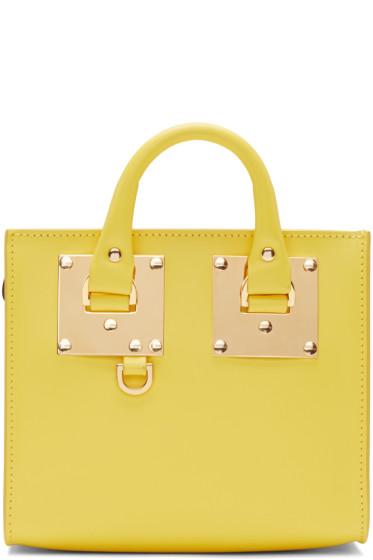 Sophie Hulme - Yellow Albion Box Tote